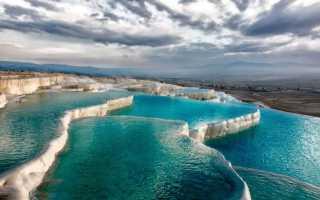 Термальные источники Турции: зимой и летом