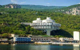 Пансионаты Крыма с собственным пляжем