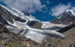 Ледники Горного Алтая