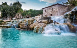 Италия — термальные источники