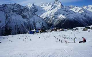 Домбай горнолыжный курорт