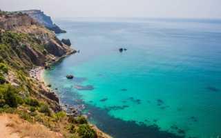 Пляжи Крыма — рейтинг 10 лучших мест для отдыха
