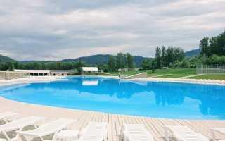 Базы отдыха с бассейном