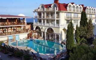 Отели в Крыму на берегу моря