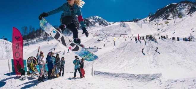 Красная Поляна горнолыжный курорт