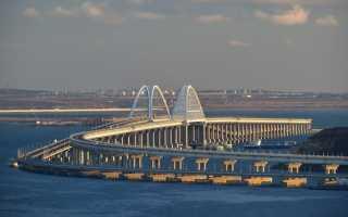 Крымский мост — автомобильная и железнодорожная трасса