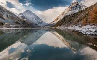 Аккемское озеро в Алтайских горах