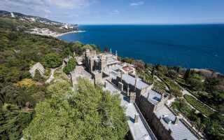 Алупка Крым: описание курорта и достопримечательности