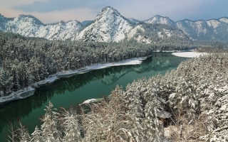 Алтай в декабре