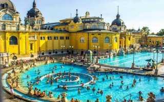 Будапешт — термальные источники