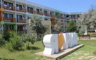 Парк отель Рио в Крыму — расположение, описание