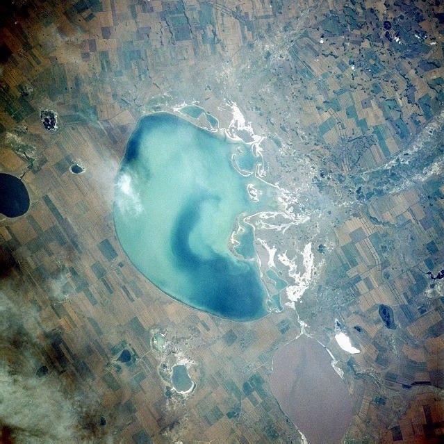 Кулундинское озеро Алтай