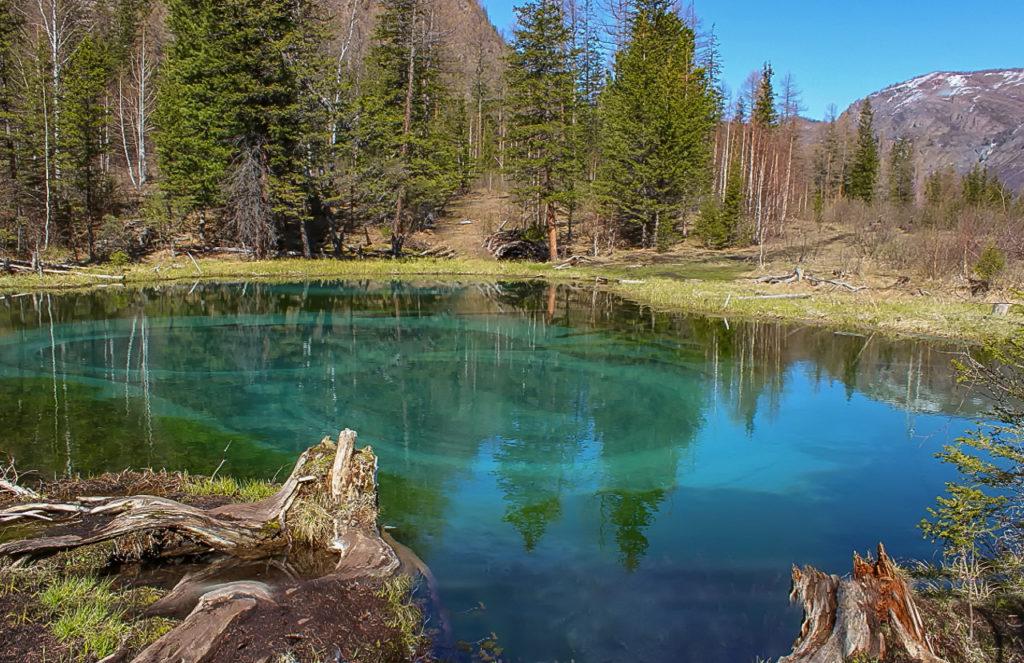 Гейзерное озеро Алтайский край