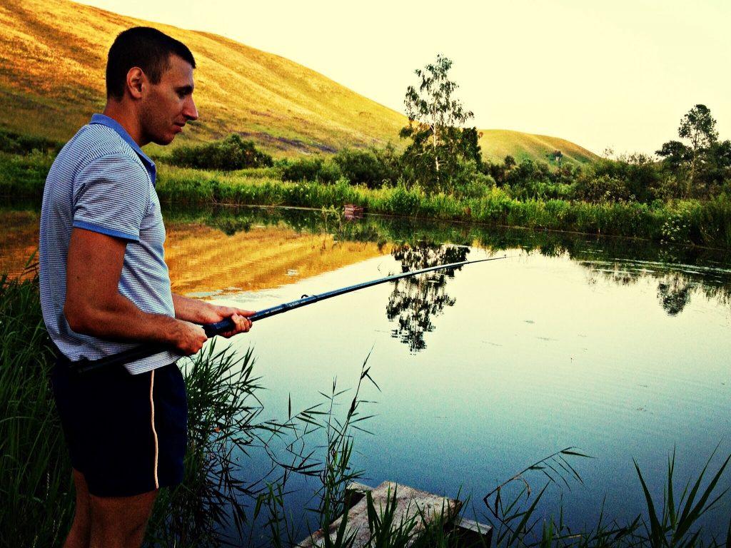 Рыбалка озеро Айченок