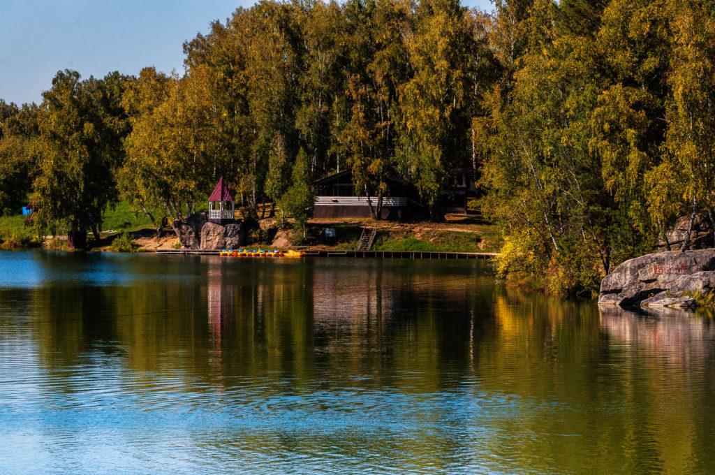 Озеро Ая Алтай