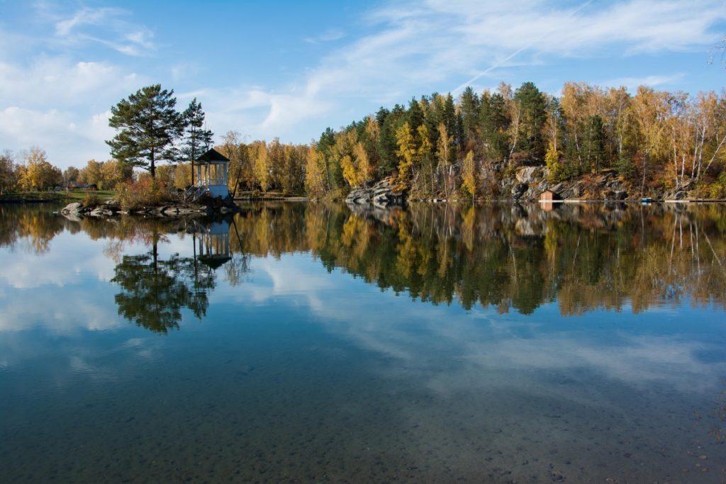 Озеро Айя Алтай