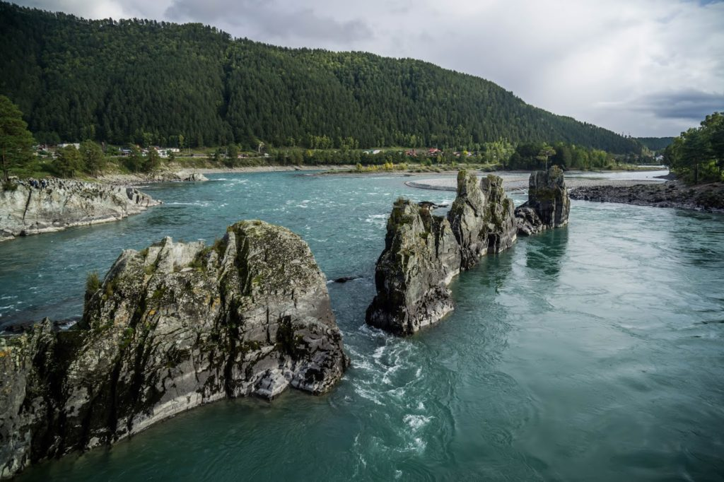Река Элекмонар Алтай