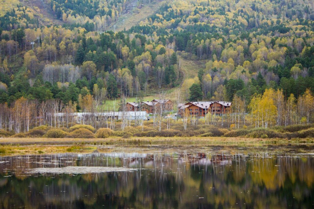 Озеро Манжерок Алтай
