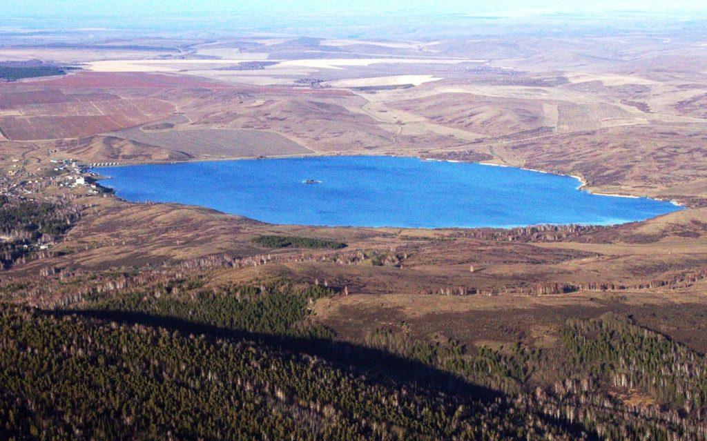 Белое озеро Алтай