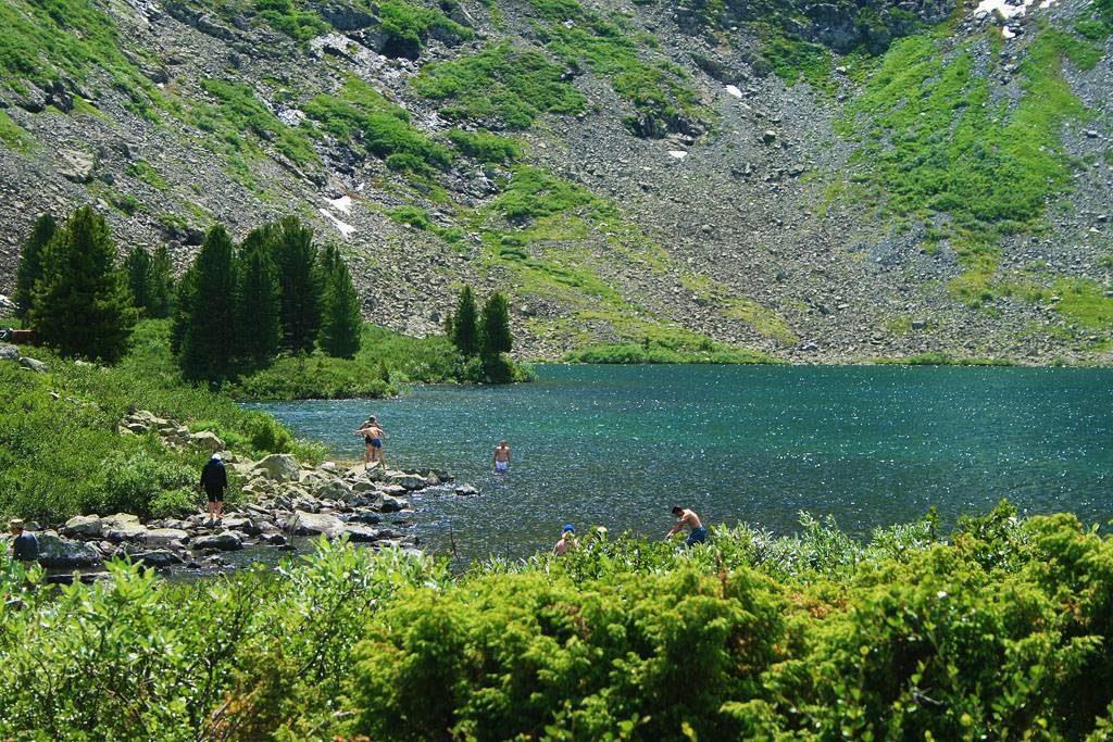 Озеро Манас Алтайские горы