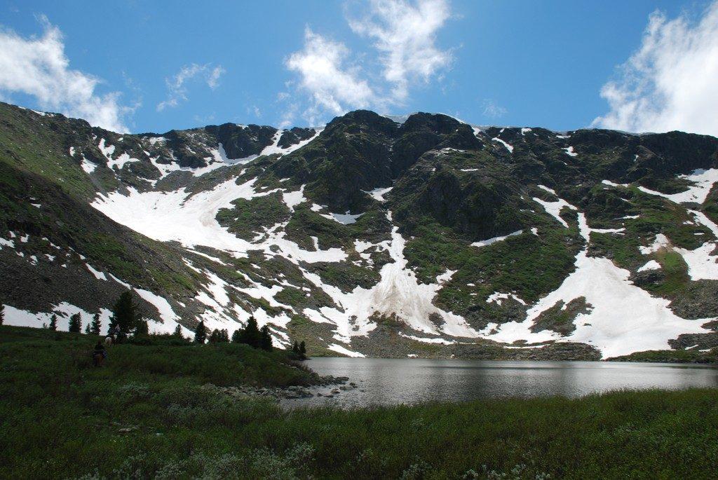 Гора Кабарга Алтай