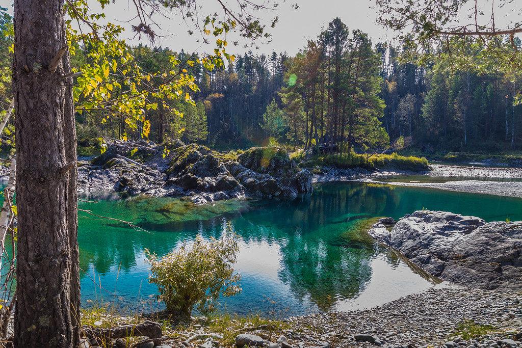 Голубые озера Алтайский край
