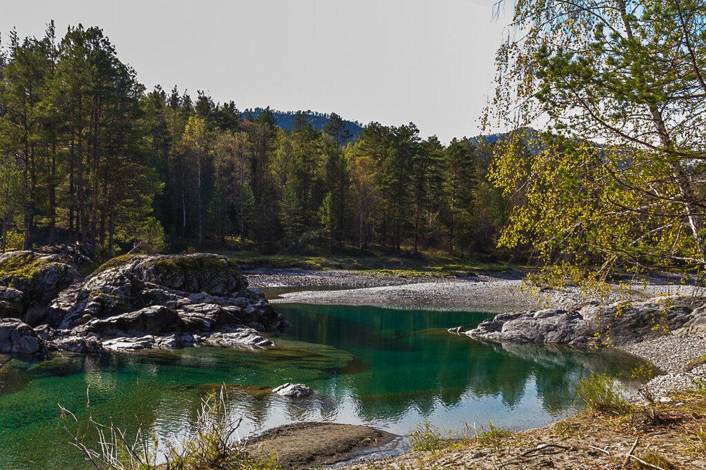 Голубые озера Аскат