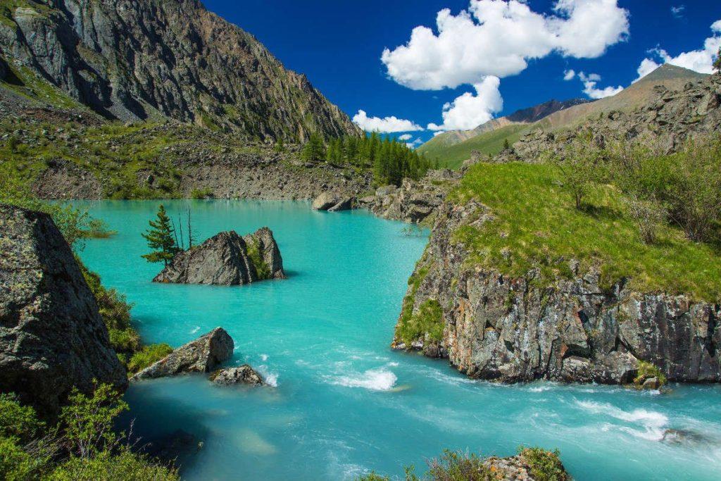 Верхнее Шавлинское озеро Алтай