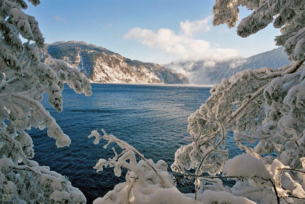 Алтай зима