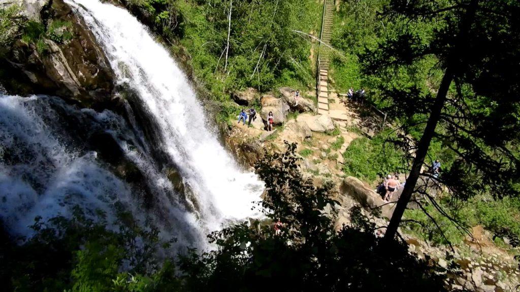 Водопад Пещерка Алтайский Край