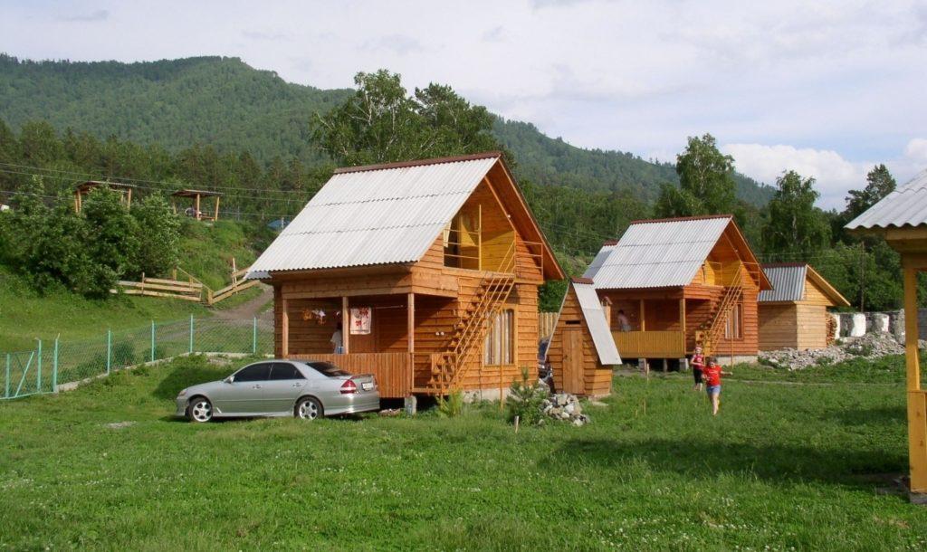 Домики в простоквашино Алтай