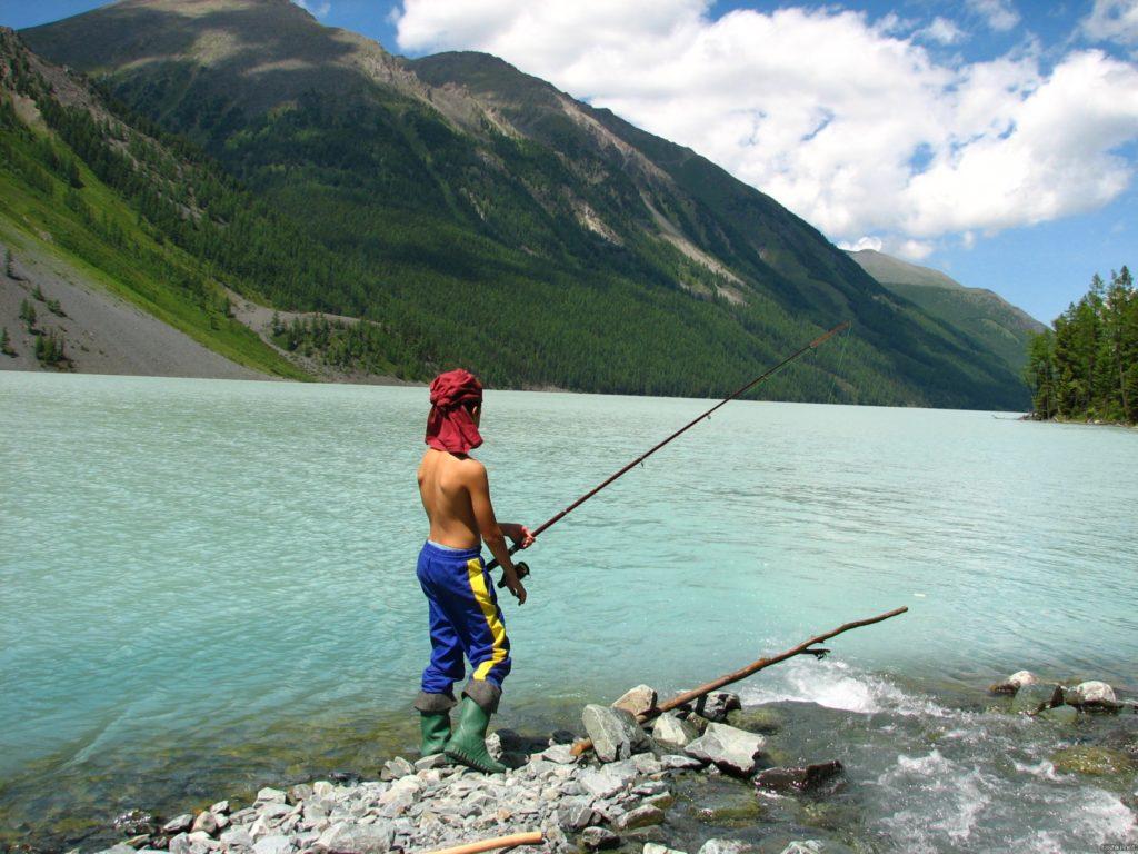 Рыбалка на Кучерлинском озере