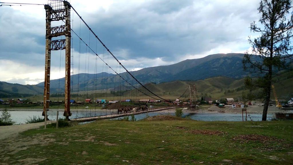 Мост село Тюнгур