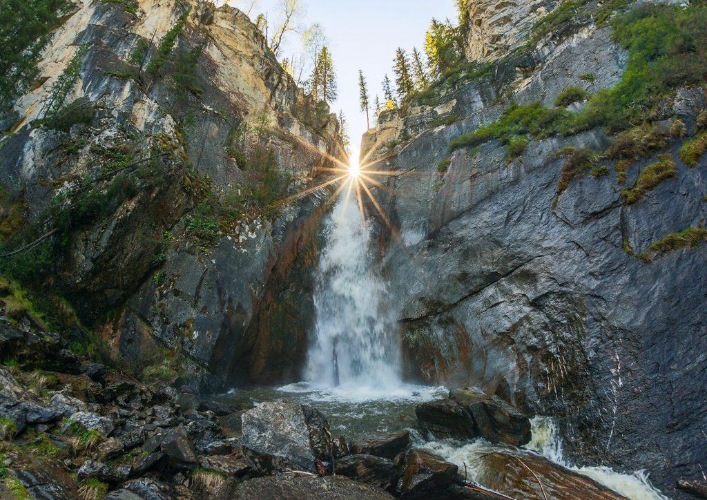 Водопад Шинок Алтай