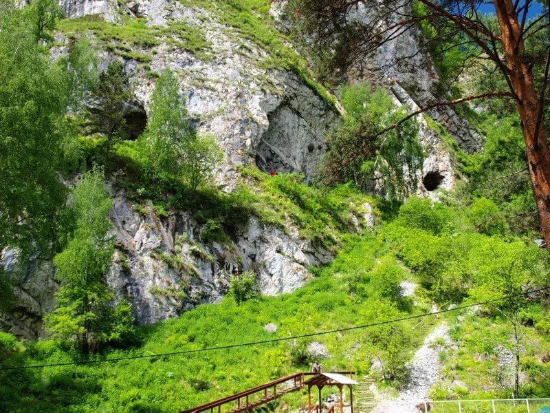 Тавдинские пещеры снаружи