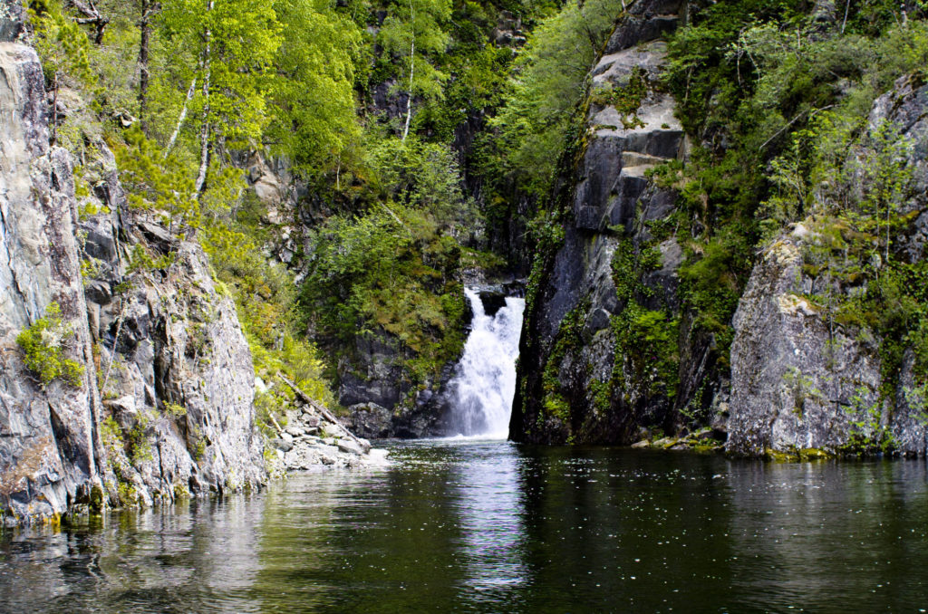 Водопад Киште Алтай