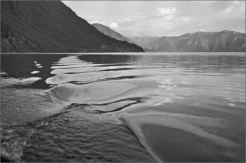 Южный плес Телецкое озеро