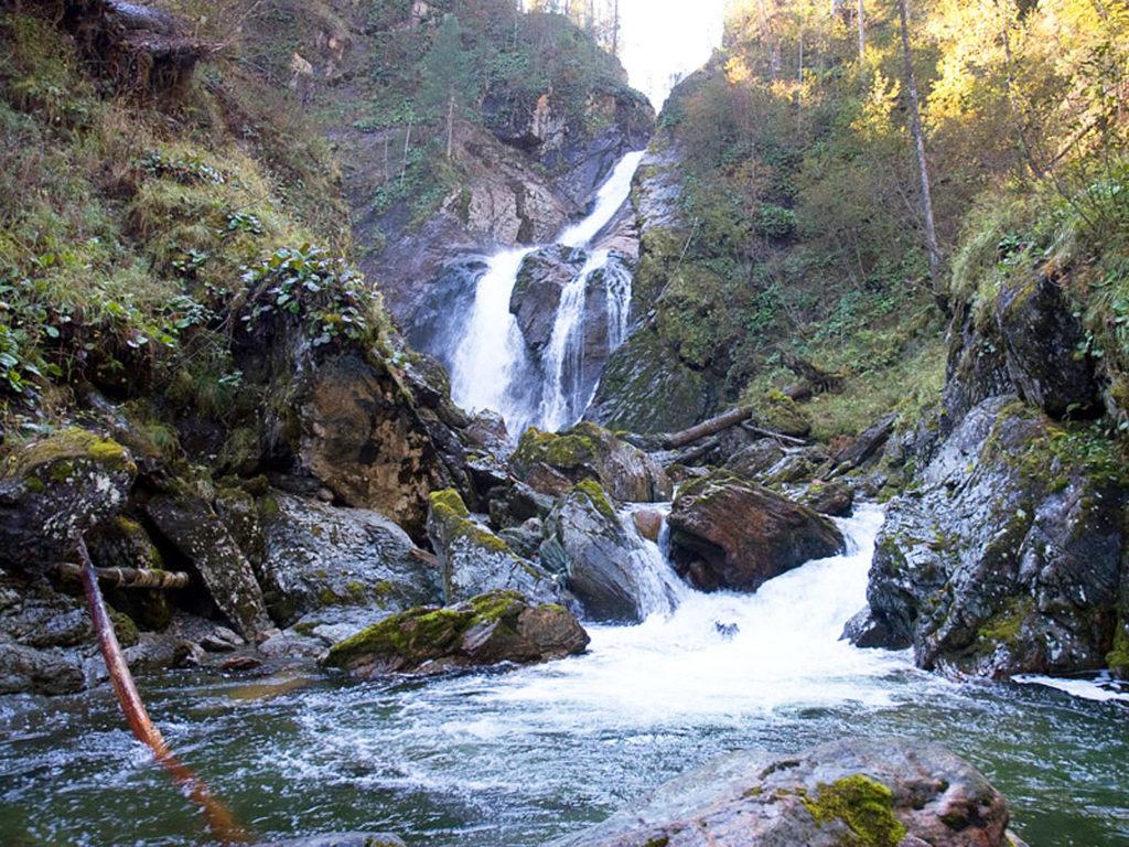 Большой Шалтан водопад
