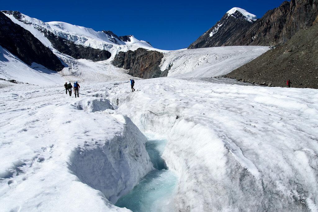 Большой Актру ледник