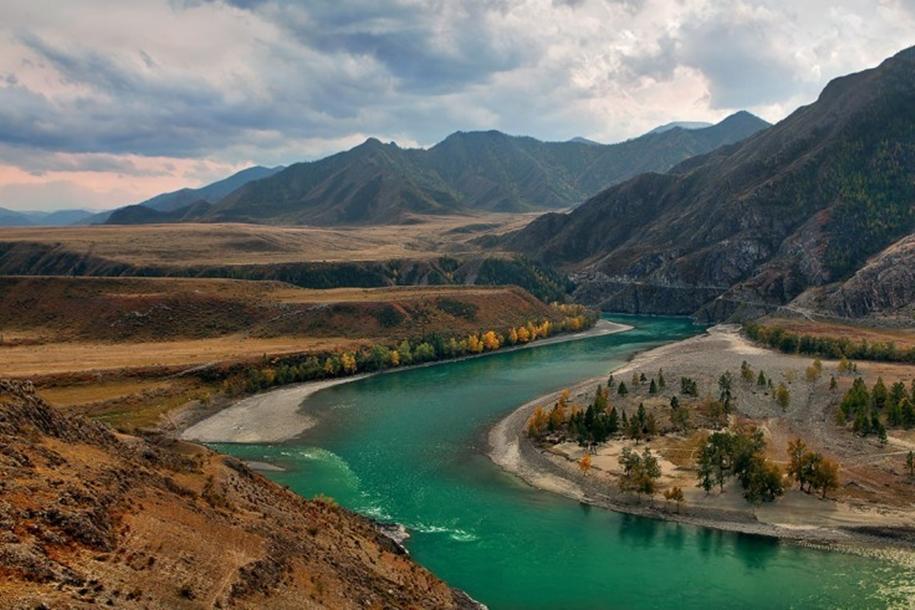 Река Чуя Алтай
