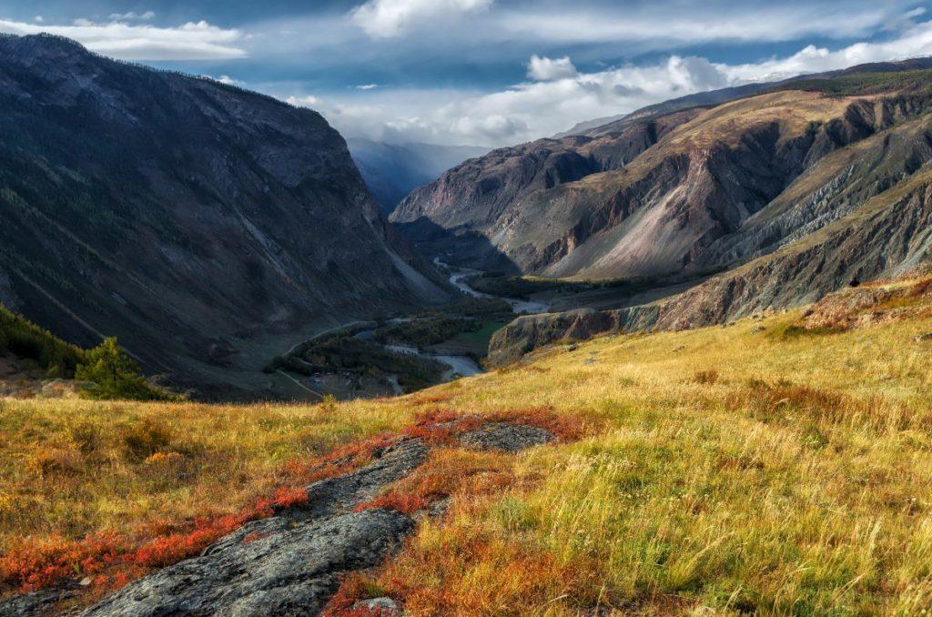 Золтые горы Алтая