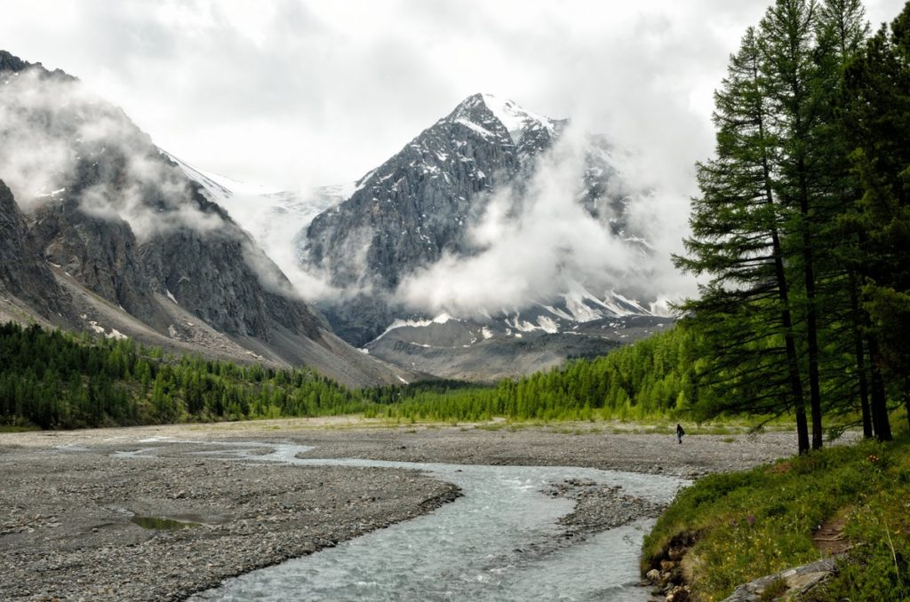 Ледник Актру Алтай