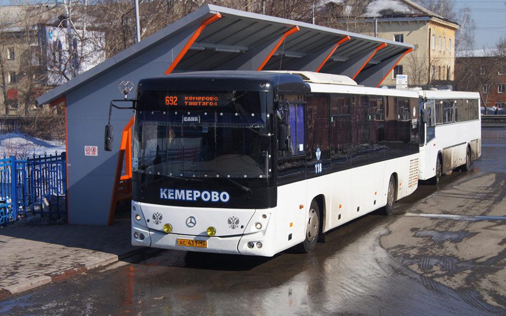 Автобус Кемерово-Таштагол