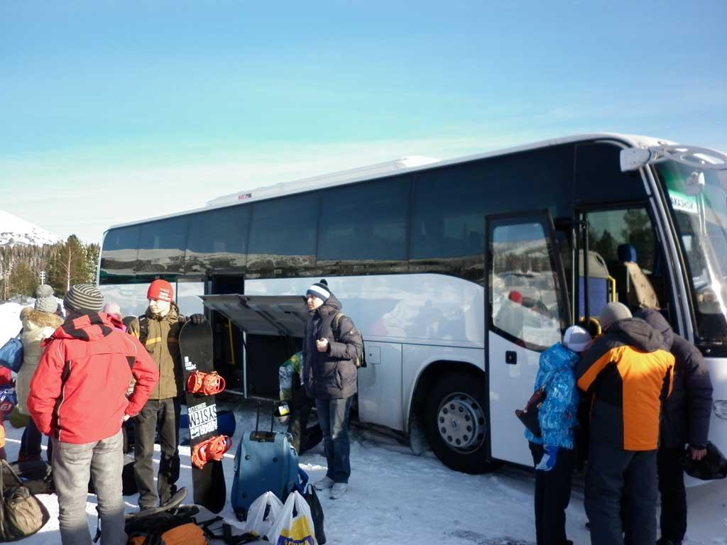Автобус до Шерегеша