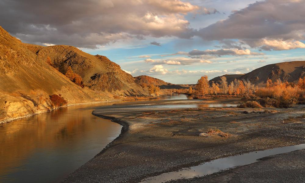 Река Чаган-Узун