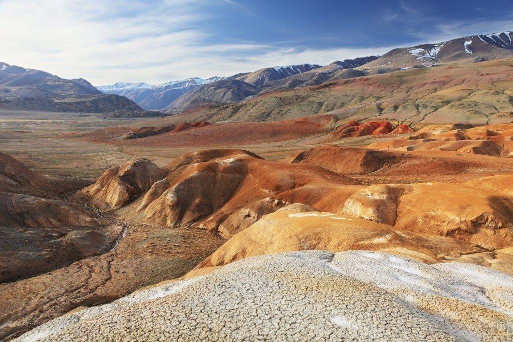 Марсианские горы Алтай
