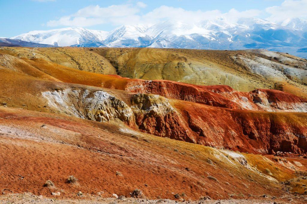Марсовы горы Алтай