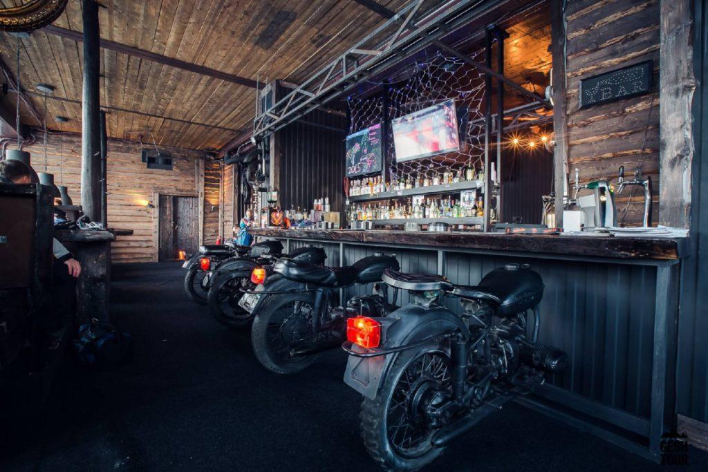 Папа Миша бар в Шерегеше