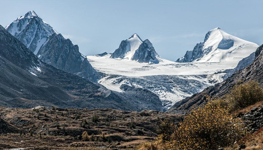 Софийский ледник Ксения и брат