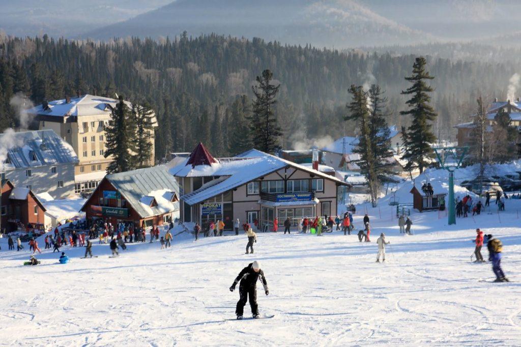 Курорт Шерегеш зимой